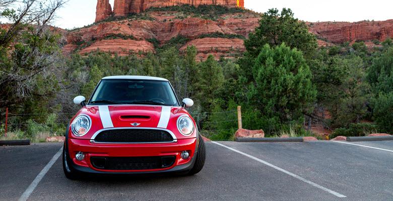 Red Mini Cooper S